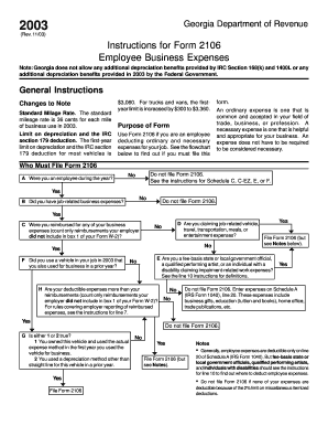 form 2106 instructions 2015