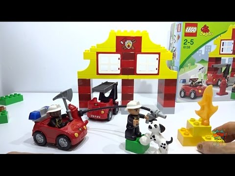 duplo fire station instructions 6138