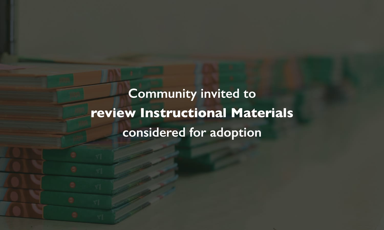 what is instructional materials