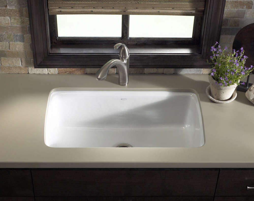 kohler cast iron sink installation instructions