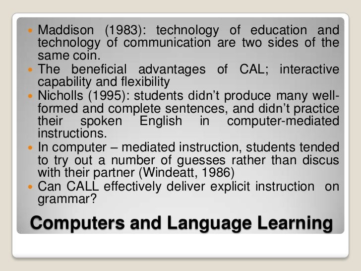 computer assisted instruction in teaching