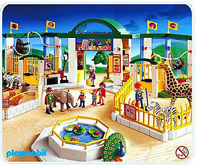 playmobil zoo 4850 instructions