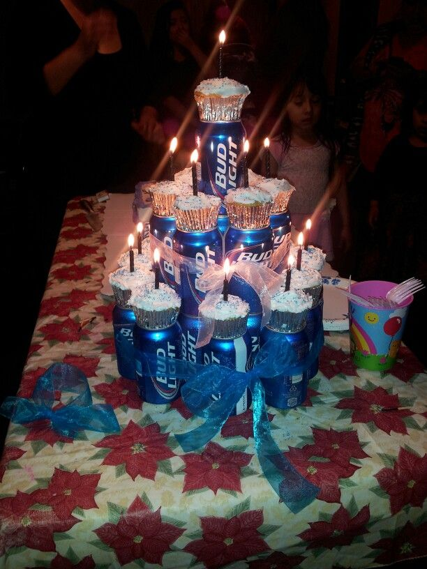 beer cake tower instructions