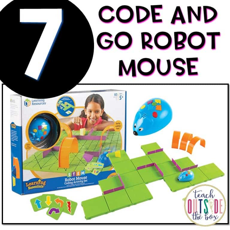 code and go robot mouse instructions