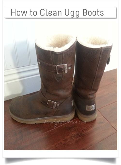 ugg leather boots care instructions