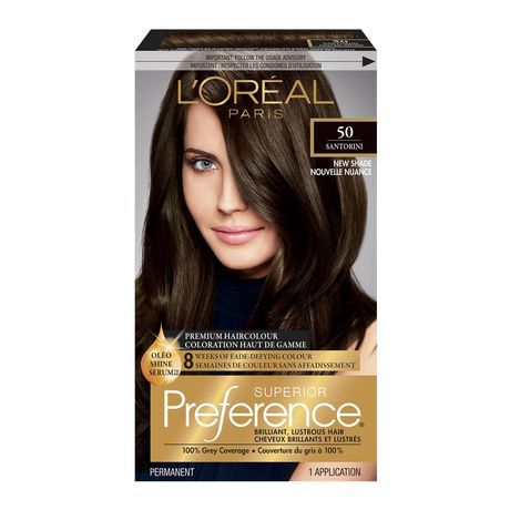 loreal preference hair colour instructions