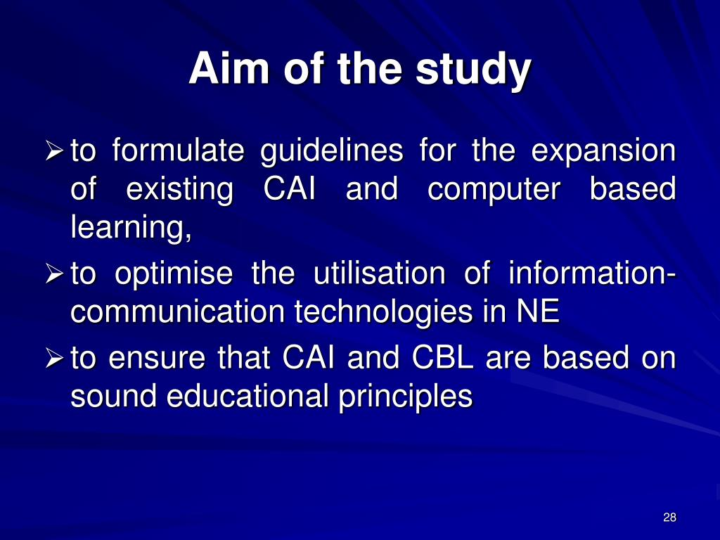 computer assisted instruction ppt