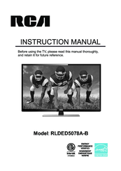 rca tv wall mount instructions