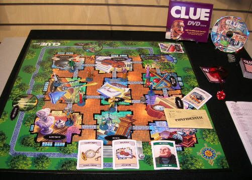 mystery mansion board game instructions