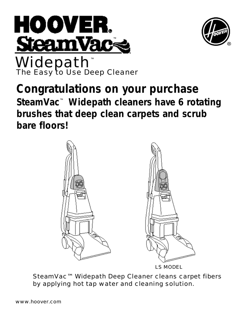 hoover wet dry vac instructions
