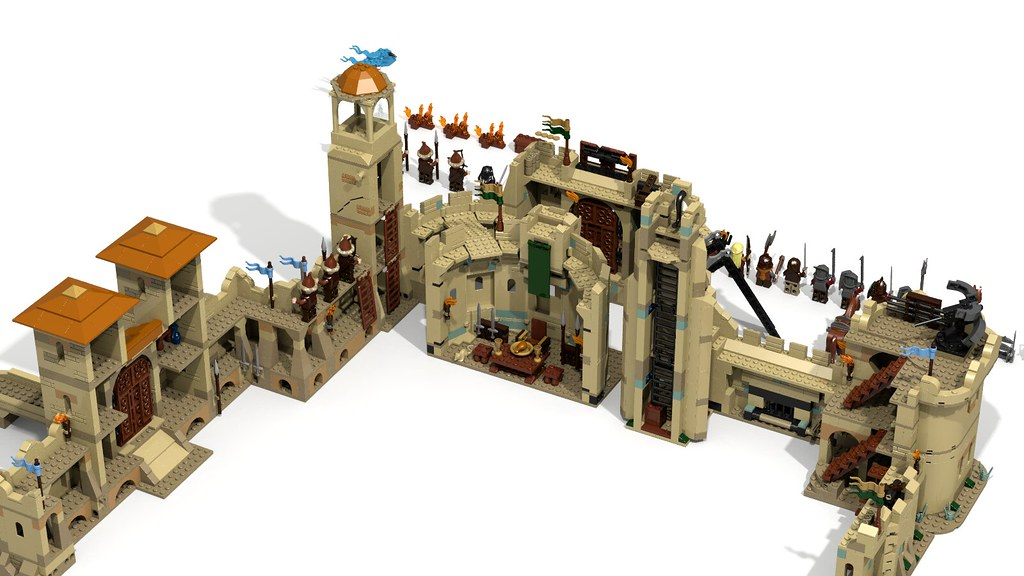 lego lord of the rings instructions
