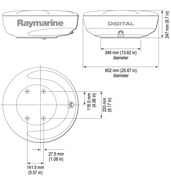 raymarine axiom installation instructions