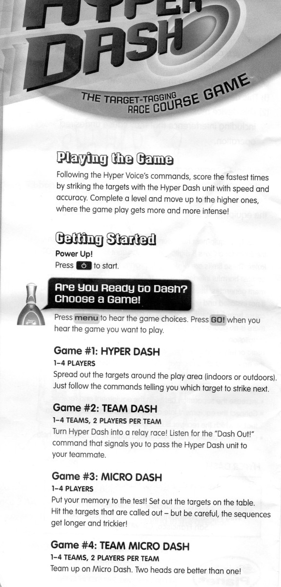 2008 operation game instructions