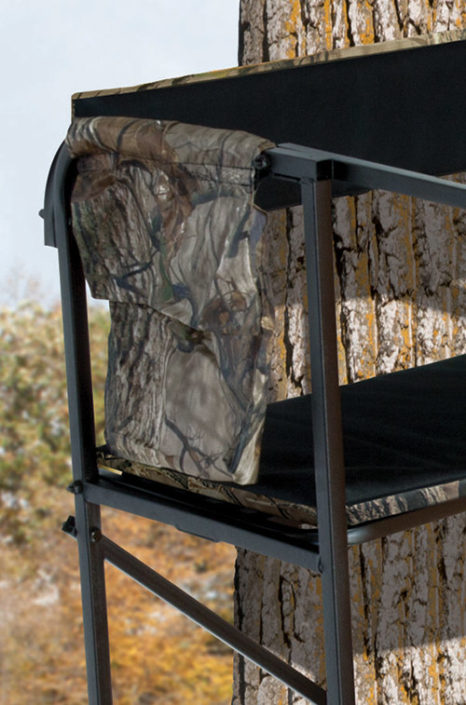 big game double tree stand instructions