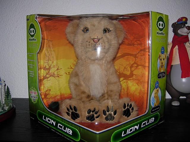 wowwee lion cub instructions