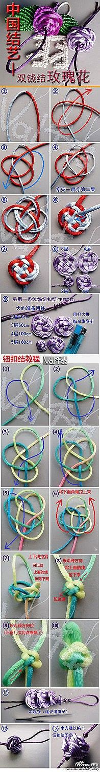 double chinese button knot instructions
