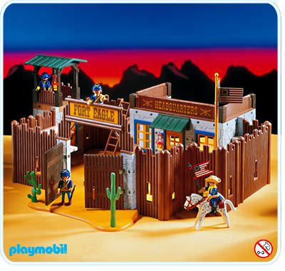 playmobil fort eagle instructions