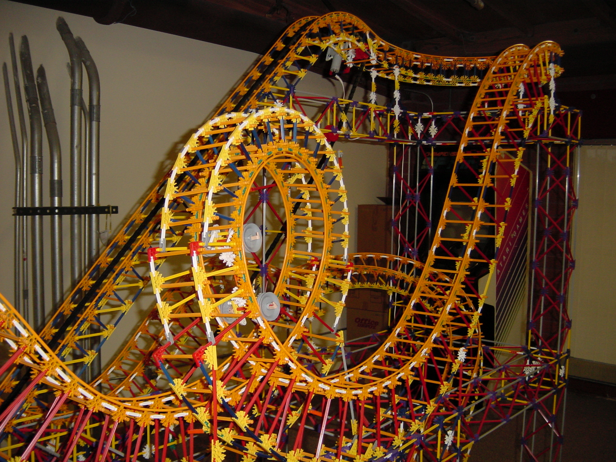 knex roller coaster instructions loop version