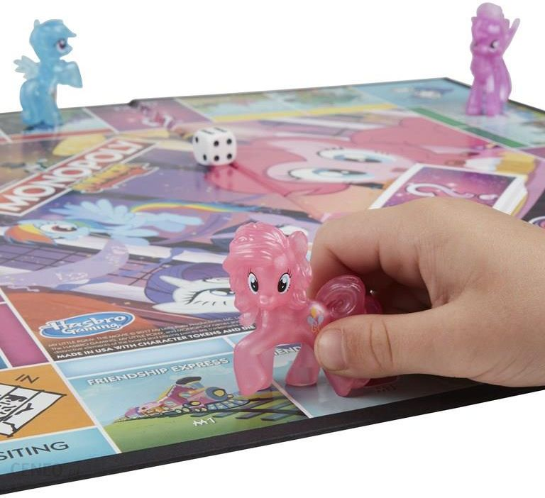 my little pony monopoly junior instructions