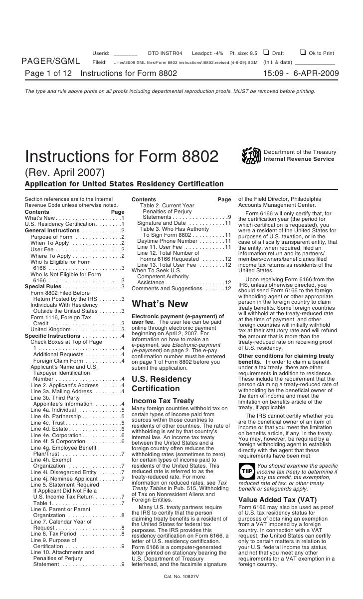 tax form 2555 instructions